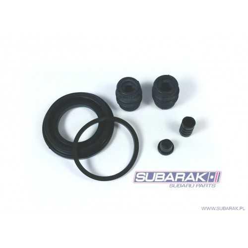 Chlapacze Basic Rally Armor, Subaru Forester 03-08 - czarne z czarnym logo
