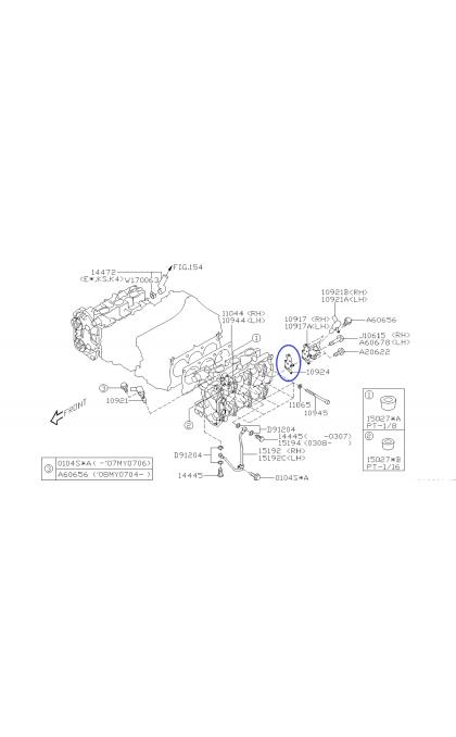 Tarcze hamulcowe Zimmermann 294mm GT / WRX / XT (przód)