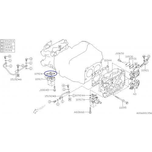 Tarcze hamulcowe Zimmermann 266mm Subaru Impreza/Forester/Legacy (tył)