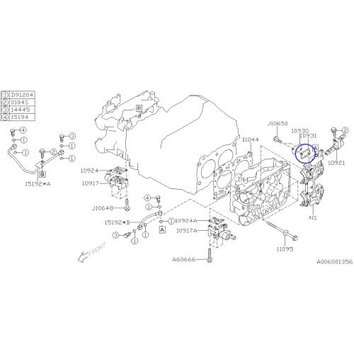 Cewka zapłonowa Janmor do Subaru Impreza/Legacy/Forester 2.5 USA