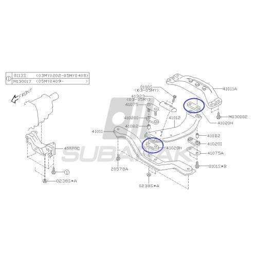 Żarówka konsoli/zegarów do Subaru