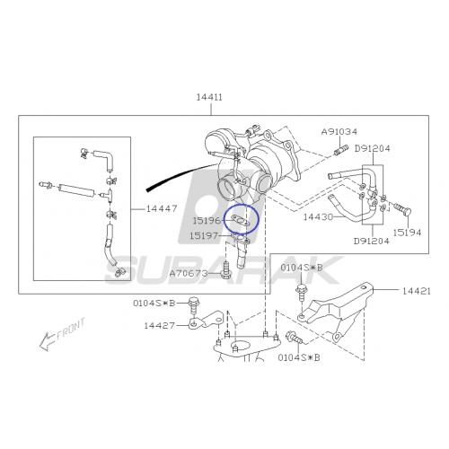 Tarcza hamulcowa DBA do Subaru Impreza GT/WRX Forester XT przód