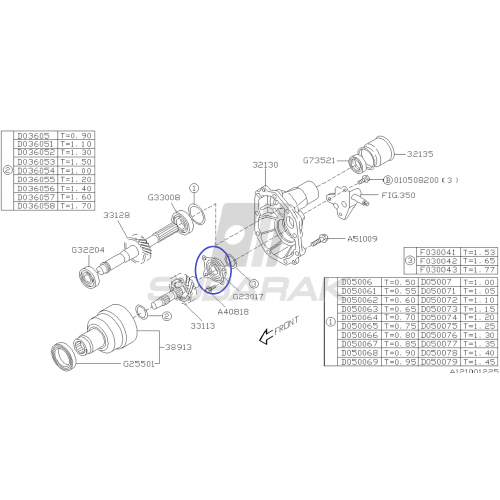 Skrobaczka do szyb Subaru