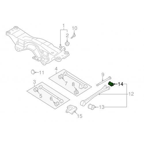 Komplet świec zapłonowych do Subaru Turbo 01- (WRX/STI/XT)