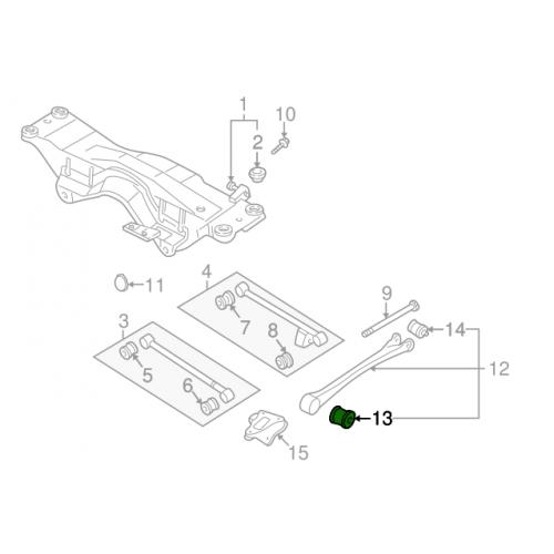 Świeca zapłonowa do Subaru Turbo 01- (WRX/STI/XT)