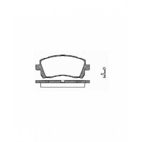 Klocki hamulcowe Hawk Performance HP+ do Subaru Impreza GT/WRX tył