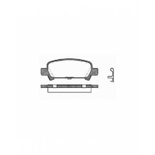 Zestaw naprawczy zacisku do Subaru Impreza/Forester/Legacy